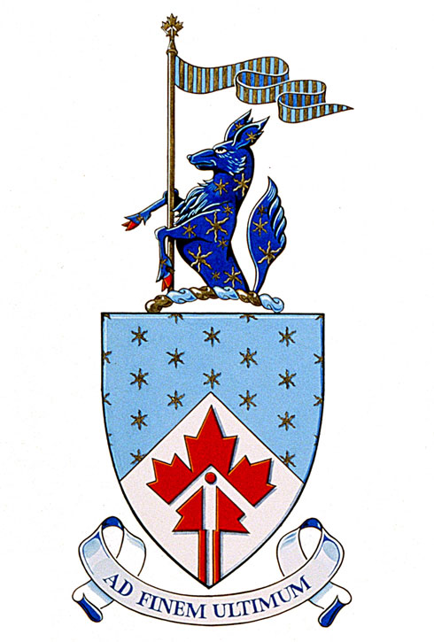 Space Coat Of Arms Arms of the Canadian Space