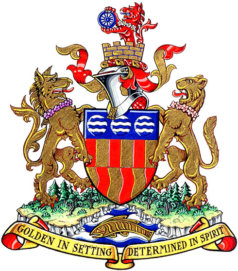 City of Langford Langford, British Columbia Confirmation of Arms, Supporters
