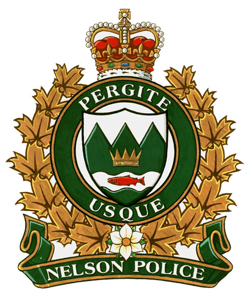 Nelson Police Department Nelson, British Columbia Grant of a Flag and Badge
